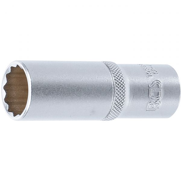 "Socket, 12-point, deep | 12.5 mm (1/2"") drive 