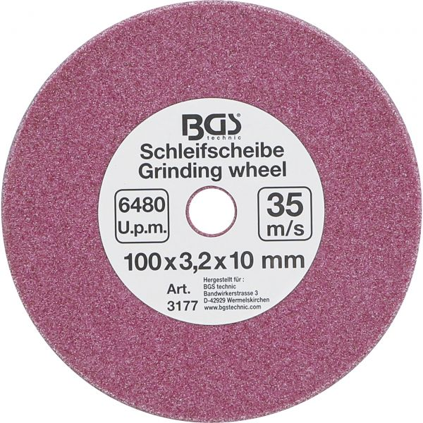 Grinding Disc  for BGS 3180  Ø 100 x 3.2 x 10 mm