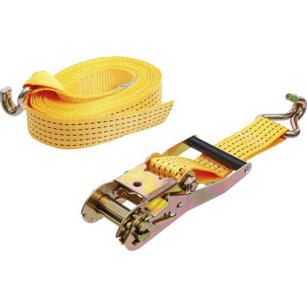 2.5 m x 25 mm Tie Down Strap Set with Quick Lock 2 pcs. Kraftmann 3599