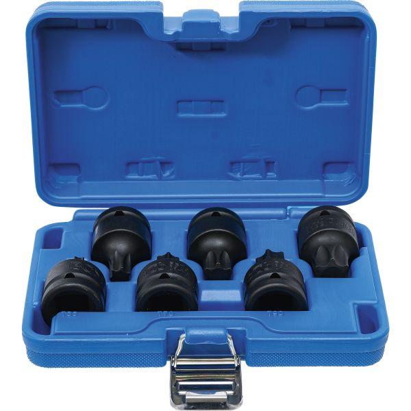 10 teilig 5097 BGS Kraft Bit Einsätze T Profil T20 T70