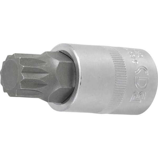 12,5 1//2 Innenvielzahn BGS 4337 Bit-Einsatz M14 x 200 mm