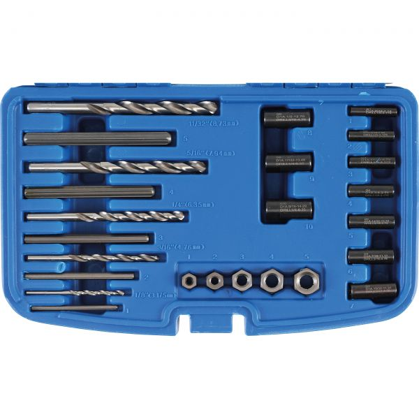 HSS Screw Extractor Set  25 pcs.