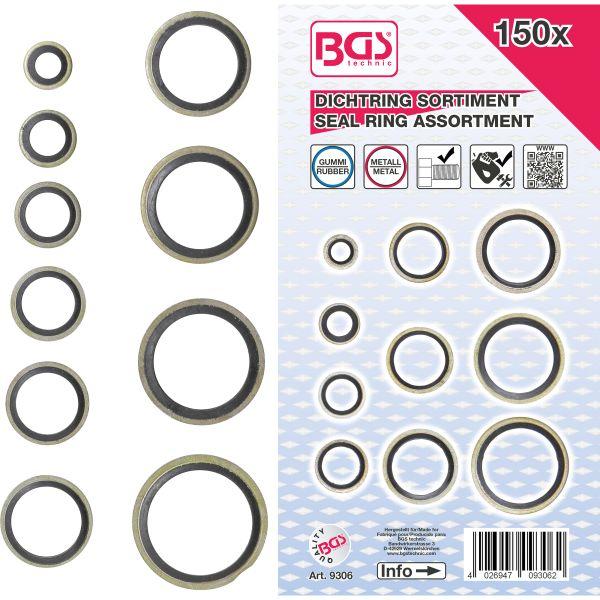 BGS 8035 Montage-Jeu de joints toriques 5 pièces