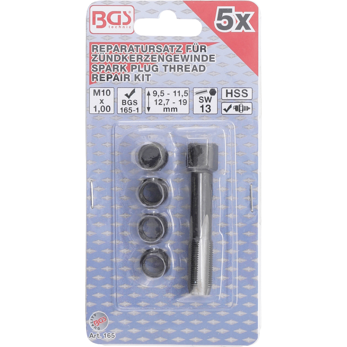 Spark Plug Thread Repair Kit M10 x 1.00